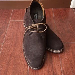 Nwob Kenneth Cole Sz 10.5 desert suede ankle boots
